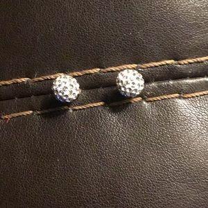 14k Crystal Post Earrings